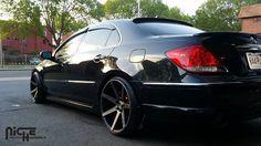 ACURA RL, WHEEL: Verona - M150, FINISH: Black & Machined with Dark Tint, WHEEL SIZE: 20x10.5, TIRE: , TIRE SIZE: 245/30E20, OFFSET: +35 2006 Acura, Acura Tl, Infiniti Sedan, Honda Legend, Tire Size, Nsx, Japanese Cars, Verona, Luxury Cars