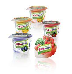 Бифидойогурт «Vitamel» -Потребительский брендинг