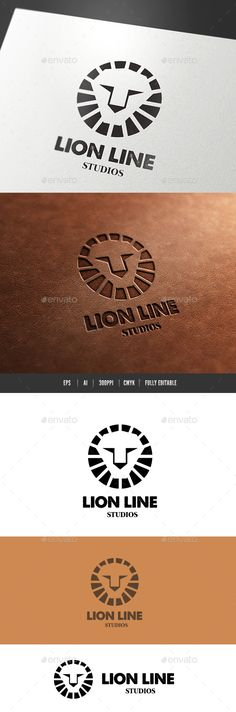 Logo Description: The logo is Easy to edit to your own company name.The logo is designed in vector for highly resizable and printi