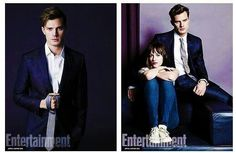 Fifty Shades Of Gray Movie Photograph Christian Grey& Ann Steele  Entertainment Weekly
