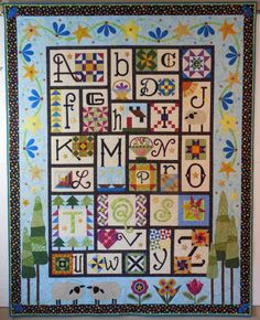 A to Z For Ewe and Me added to MyQuiltPlace.com by Janet Stone.