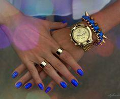 Blue cobalt.