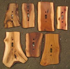 These Switches, GFIs & Outlet Covers from Sisters Log Furniture would make excellent gifts for a cabin owner. | Handcrafted Western Gifts & Decor | Tiny Homes