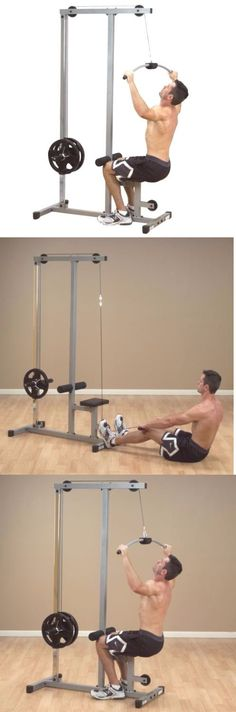 Home Gyms 158923: Body Solid Powerline Lat Machine High Low Pulley Gym Weight Exercise Plm180x BUY IT NOW ONLY: $245.0
