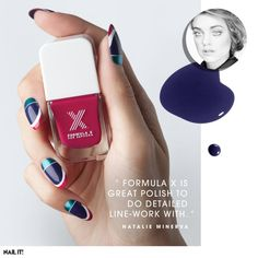 Natalie Minerva, the dazzlingly creative manicurist on Formula X, working with celebs, and discovering nail art at the age of six. Read more on the Glossy! #Sephora #Nailspotting