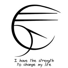 i have the strength to change my life.