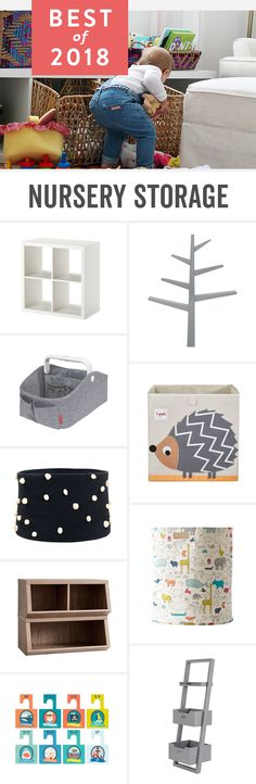 Babylist is the baby registry that lets you add any item from any store including stylish nursery storage and organization for baby boys and baby girls. Nursery Storage, Nursery Organization, Nursery Twins, Baby Boy Nurseries, Diaper Storage, Boys Furniture, Boys Bedroom Decor, Bedroom Ideas, Nursery Inspiration