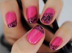 lace tips<3