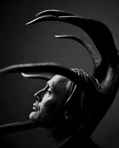 """""""We live in a primitive time - don't we, Will? - neither savage nor wise. Half measures are the curse of it. Any rational society would either kill me or give me my books.""""- Mads Mikkelsen, as Hannibal Lecter."""