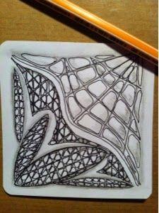 Zentangle-Doodlevergnügen: Kaffeepause mit Zentangle