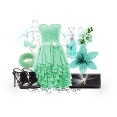 A fashion look from June 2014 featuring short green dress, black heeled shoes and yves saint laurent handbags. Browse and shop related looks. Short Green Dress, Saint Laurent Handbags, Black Heels, Yves Saint Laurent, Polyvore, Fashion, Moda, Fashion Styles, Black Pumps Heels