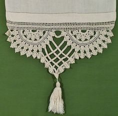 I have these exact ones on some antique linen- maybe I can make some