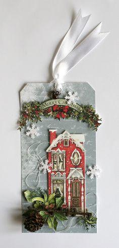 Seasonal house tag