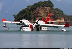 Photographer:William Mah - AHKGAP  /  Canadair CL-215-6B11 CL-415MP  /  Malaysia, March 28, 2013  /  borrowed from the very inspiring - http://www.airliners.net/