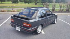 Bid for the chance to own a 1989 Peugeot 309 GTI at auction with Bring a Trailer, the home of the best vintage and classic cars online. Peugeot 309 Gti, Michelin Tires, Modified Cars, Classic Cars Online, Retro Cars, Old Cars, Cars And Motorcycles, Automobile, Engineering