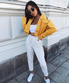 45 simple spring outfits style ideas with jeans 55 Mode Outfits, Trendy Outfits, Fashion Outfits, Outfits For Concerts, Cute Concert Outfits, Reunion Outfit, Insta Outfits, Popular Outfits, Fashion Heels