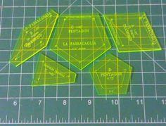 La Passacaglia Acrylic Templates With 1/4 inch by SunsetSeams