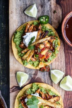 (via BBQ Margarita Chicken Tostadas with Sweet Jalapeno Margarita Salsa | …)