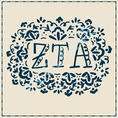Geneologie | Greek Tee Shirts | Greek Tanks | Custom Apparel Design | Custom Greek Apparel | Sorority Tee Shirts | Sorority Tanks | Sorority Shirt Designs  | Sorority Shirt Ideas | Greek Life | Hand Drawn | Sorority | Sisterhood | ZTA | Zeta Tau Alpha | Bid Day | Recruitment