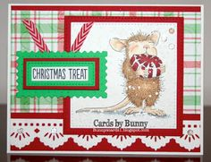 House-Mouse & Friends Monday Challenge: HMFMC #246 Christmas In July