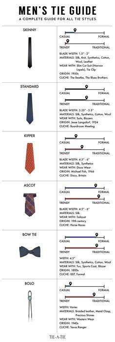 mens tie guide More