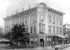 The original National Bank of Birmingham building, commonly called Linn's Folly, was a three-story brick building constructed in 1872 and 1873. It was the first multi-story commercial building to be built in Birmingham. The Brown Marx Building now occupies this site. Birmingham, Alabama.