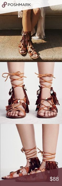 FREE PEOPLE Swept Away Sandals Size EU 40 Excellent condition- adding more photos soon Free People Shoes