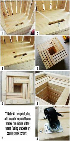 taburetka s uloznym priestorom z drevenych debniciek 3