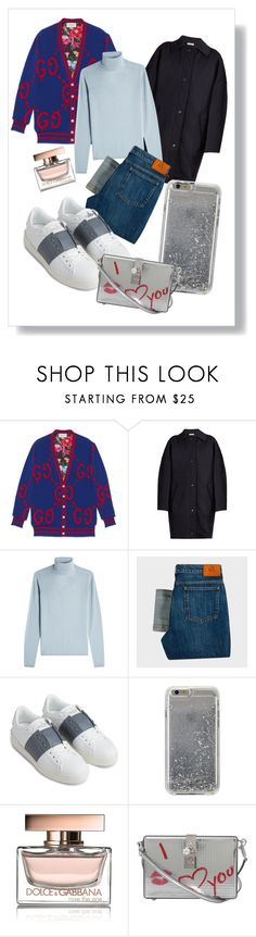 """KIC"" by xxelectre on Polyvore featuring Gucci, Balenciaga, IRIS VON ARNIM, PS Paul Smith, Valentino, Agent 18 and Dolce&Gabbana"