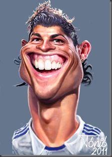 Cristiano Ronaldo by Tónió