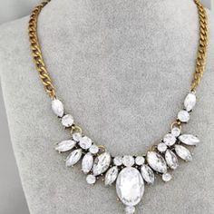 Rhinestone necklace Rhinestone necklace Jewelry Necklaces