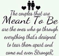 My love and I conquers all.