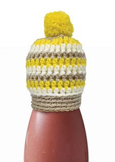 The Mini Beanie for the innocent Big Knit - Free crochet pattern by DMC Creative World UK.