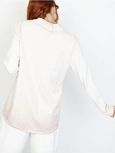 Sweat shirt lace up femme chic sweat en coton rose pale poudré avec lacet devant couleur délavé made in italy haut de jogging
