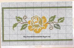 Layette Cross Stitch by Nubia Cortinhas: floral cross stitch chart Beaded Cross Stitch, Cross Stitch Rose, Cross Stitch Borders, Cross Stitch Flowers, Cross Stitch Embroidery, Embroidery Patterns, Cross Stitch Patterns, Crochet Tablecloth, Bargello