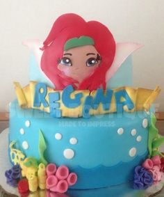 Zarina cake, Pirates fairy cake