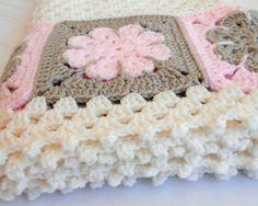 Crochet Pattern Easton Baby Afghan Pattern Blanket