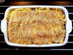Krokante ovenschotel met witte kool en gehakt I Love Food, Good Food, Yummy Food, Tasty, Dutch Recipes, Cooking Recipes, Healthy Summer Recipes, Mince Meat, Winter Food