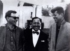 Gore Vidal, Tennessee Williams, and Jack Kennedy, Palm Beach, Florida, 1958
