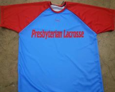 Presbyterian lacrosse shooter shirts made to order in Maryland>  Design and order online in minutes.