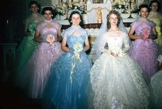 now those are some bridesmaid dresses!