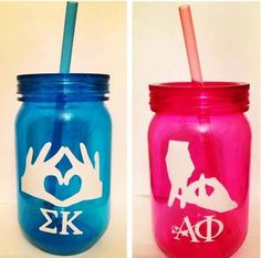 Two words: Mason. Jars. | 13 Sorority Gifts For Your New Little