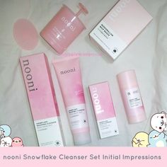blog post contains affiliate links I purchased the advanced Nooni Snowflake cleansing set a couple of weeks ago because I do think that Memebox's line of products are pretty good, I enjoyed t…