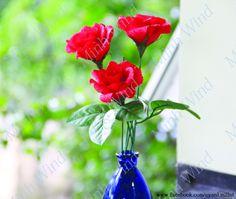 [How to make] Rose paper flower tutorial - Hướng dẫn làm hoa hồng: https://www.youtube.com/watch?v=-3exYvjzd5U&list=PLoh5l3A2Cl68yQ9OoUUKx75XTki8ZL775&index=18