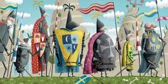 Piotr Socha Illustration Illustration Art, Illustrations, Naive, Children's Books, Digital Art, Artists, Outdoor Decor, Home Decor, Illustration Children