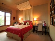 Elegant Master Bedroom with Design by Kim Smart Canopy Curtain Theme for Master Bedroom Design