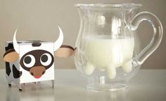 Udderly Cute Milk Pitches, Bowls and Milk Packaging Design Ideas