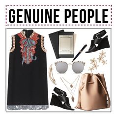 """""""Genuine-People"""" by rasaj ❤ liked on Polyvore featuring Alexander Wang, Andrew Philips and Bonheur"""