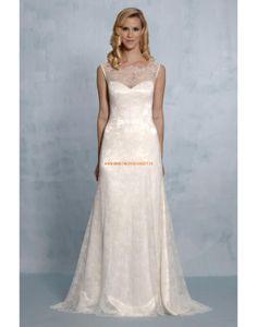 Augusta Jones 2013 Glamouröse Dramatische Brautmode aus Spitze