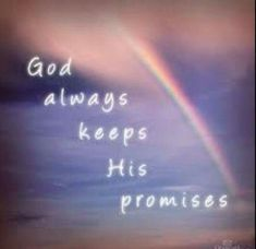 He does Jesus Is Lord, Jesus Christ, Religious Quotes, Promises In The Bible, Gods Promises, Rainbows, Scriptures, Bible Verses, Bible Quotes